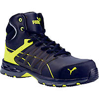 Puma Velocity 2.0 MID S3 Metal Free  Safety Trainer Boots Yellow Size 6.5