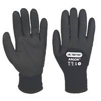 Skytec Argon Thermal Grip Gloves Black Large