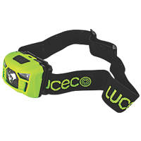 Luceco LILH15P65 Rechargable LED Headtorch Integrated Battery