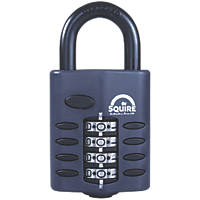Squire  Steel All Weather Combination Padlock 48mm