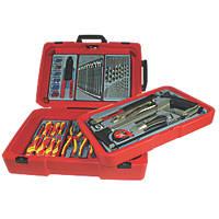 Teng Tools  Portable Electrician Tool Kit 243 Pieces