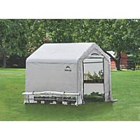 Rowlinson ShelterLogic Greenhouse 6' x 6' (Nominal)