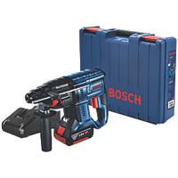 Bosch GBH 18V-21 2.4kg 18V 4.0Ah Li-Ion Coolpack Brushless Cordless SDS Plus Hammer Drill