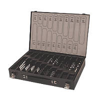 Straight Shank Mixed Drill Bit Set 160 Pieces