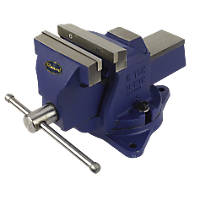 Irwin Record Mechanics Vice with Swivel Base 6""