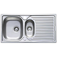 Astracast Horizon Stainless Steel Sink & Tap Pack 1.5 Bowl 965 x 500mm