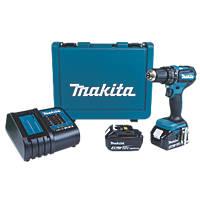 Makita DHP485SME 18V 4.0Ah Li-Ion LXT Brushless Cordless Combi Drill