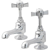 Bynea Bath Pillar Taps