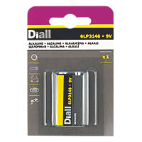 Diall Alkaline 9V Battery