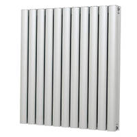 Radiant Radiator 600 x 545mm Chrome 2742BTU