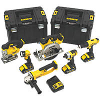 DeWalt DCK677L3T-GB 18V 3.0Ah Li-Ion XR Cordless 6 Piece Kit