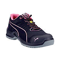 Puma Fuse Tech  Ladies Safety Trainers Black Size 8