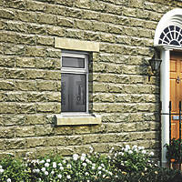Jeld-Wen Stormsure Top Opening Double-Glazed Casement White Painted Timber Window 625 x 745mm