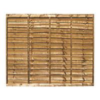Grange Professional Lap Fence Panels 1.83 x 1.5m 3 Pack