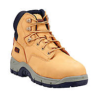 Magnum Precision Sitemaster Metal Free  Safety Boots Honey Size 9