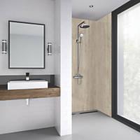 Splashwall Laminate Panel Matt Natural Turin Marble 600 x 2440 x 11mm