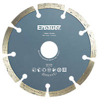 Erbauer Segmented Diamond Cutting Blade 125 x 22.2mm