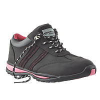 Amblers FS47 Ladies Safety Trainers Black Size 4