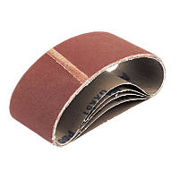 Cloth Sanding Belts Unpunched 75 x 457mm 60 Grit 5 Pack