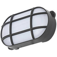 Coast CZ-34026-BLK Oval LED Bulkhead Black 8W