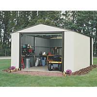 Rowlinson Murryhill Metal Garage 3.71 x 7.35m