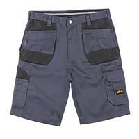 "Site Jackal Multi-Pocket Shorts Grey / Black 38"" W"