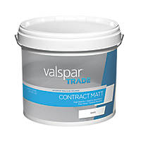 Valspar Trade Matt Emulsion White 12Ltr
