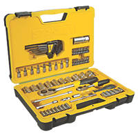 "Stanley ¼"" & ½"" Socket Set 75 Pieces"