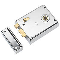 Eurospec Rim Latch with Snib Polished Chrome 105 x 81mm