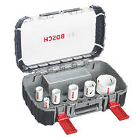 Bosch  Progressor Holesaw Set 9 Pieces