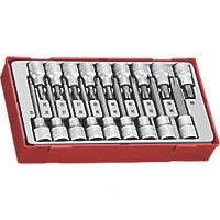 "Teng Tools TTTX18 1/2"" Drive TX Bit Socket Set 18 Pieces"
