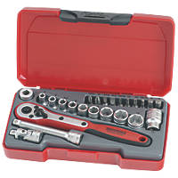 Teng Tools T1424 Socket Set 24 Pcs