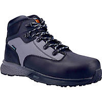 Timberland Pro Euro Hiker Metal Free  Safety Boots Black/Grey Size 6.5