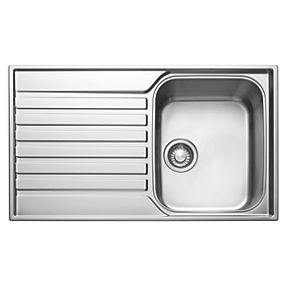 franke kitchen accessories franke ascona inset sink stainless steel 1 bowl 860 x 1055