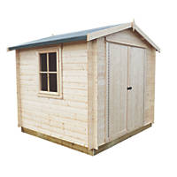 Shire Bradley Log Cabin 8 x 8'