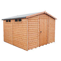 Shire 10' x 10' (Nominal) Apex Shiplap T&G Timber Shed