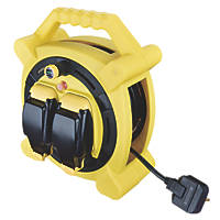 Masterplug  13A 2-Gang 20m Cable Reel 240V
