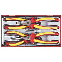 Teng Tools Insulated VDE Plier Set 4 Pieces