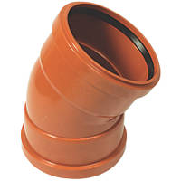 FloPlast Double Socket Bend 30° 160mm