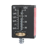 Chicago Brand How Far Out Level Gauge 2Pcs