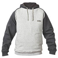 "DeWalt Cyclone Hoodie Grey Marl / Charcoal X Large 45"" Chest"