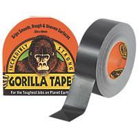 Gorilla Glue Cloth Tape 48 Mesh Black 32m x 48mm