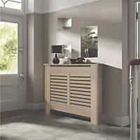 Contemporary Suffolk Radiator Cabinet Small Natual MDF 1020 x 180 x 800mm