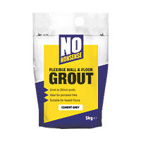 No Nonsense  Wall & Floor Grout Cement Grey 5kg