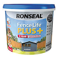 Ronseal Fence Life Plus Shed & Fence Treatment Cornflower 9Ltr