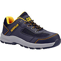 CAT Elmore Low   Safety Trainers Grey Size 9