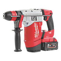 Milwaukee M18 CHPX-502X FUEL 4.3kg 18V 5.0Ah Li-Ion RedLithium Brushless Cordless SDS Plus Hammer Drill