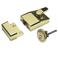 Eclipse 70091B/B Traditional Night Latch Polished Brass 60mm Backset