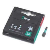 Wera Bit-Box Impaktor Tritorsion Diamond Coated Bits TX20 x 25mm 15 Pack