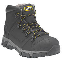 JCB XSeries   Safety Boots Black Size 7